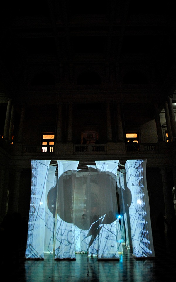 Instalación audiovisual OH!ID/fm