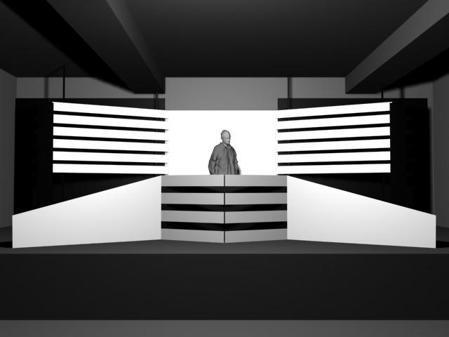 MUTEK VII / STAGE DESIGN & VJING