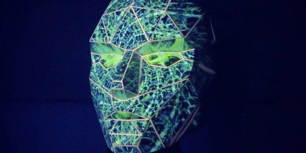 Máscara para mapping. Somos Naturaleza
