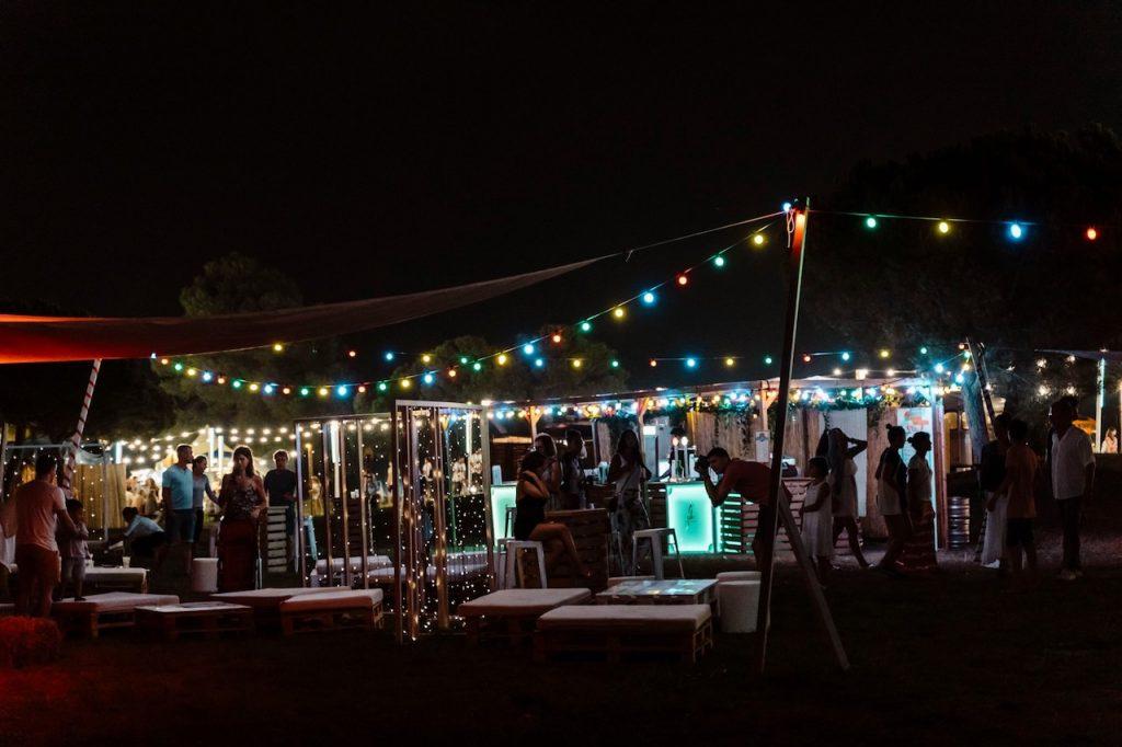 Espacio chill out M2 en White Summer Festival