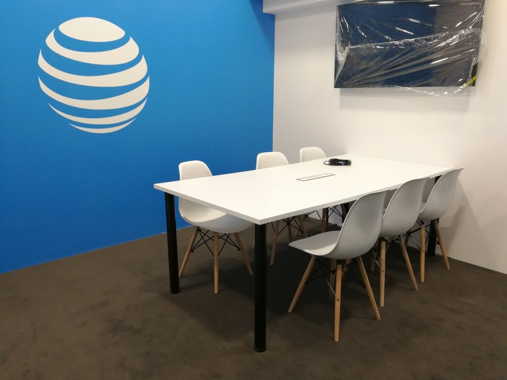Mobiliario mettings rooms para GSMA en MWC